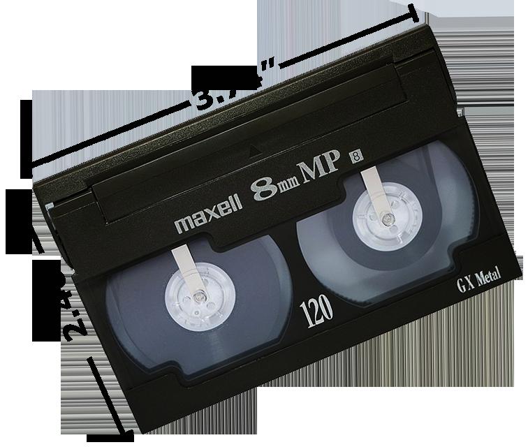 8mm tape: