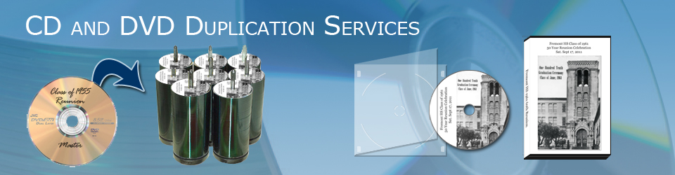 CD and DVD Duplication Services